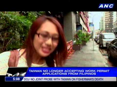 Aquino's personal representative returns home from Taiwan
