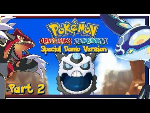 Pokemon Omega Ruby Alpha Sapphire Demo: Part 2 + eShop Code Giveaway!