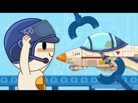 Jet | Finley's Factory Ep.7 | Cartoon for kids
