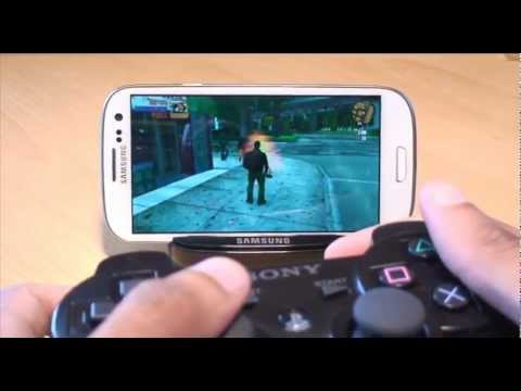 Samsung Galaxy S3 Playstation 3 Controller (PS3) Demo / SIII, i9300
