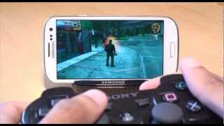 How to Pair Playstation 3 Controller (PS3) to Samsung Galaxy S3 SIII, GT-i9300