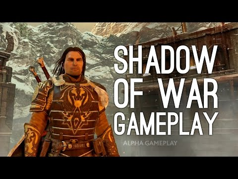 Shadow of War Gameplay Trailer: First Gameplay (Shadow of Mordor 2)