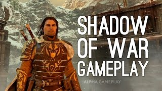 Shadow of War Gameplay Trailer First Gameplay Shadow of Mordor 2