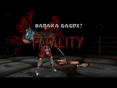 Mortal Kombat - Baraka Fatality Harakiri Video