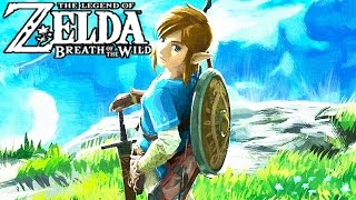 The Legend of Zelda Breath of the Wild All Cutscenes Movie (Game Movie) - Main Story