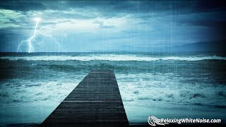 Download Lagu Rain & Thunder with Ocean Waves Sounds | White Noise for Relaxation, Sleep or Studying | 10 Hours Gratis STAFABAND