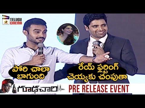 DOP Shaneil Deo Full Speech | Goodachari Pre Release Event | Adivi Sesh | Sobhita Dhulipala