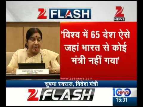 Foreign Minister Sushma Swaraj Press Conference | Part I