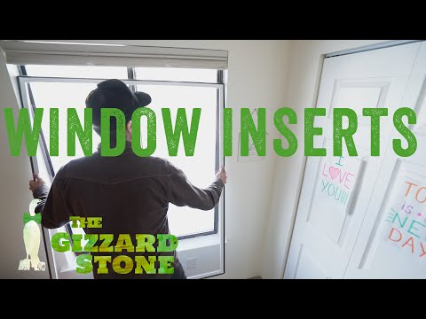Energy Savr Window Inserts Review and How To