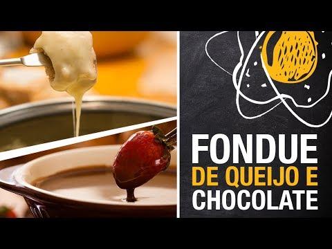 Fondue de queijo e de chocolate | Miolos Fritos Culinária Nerd