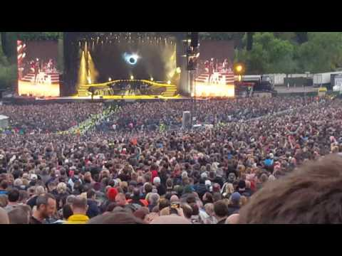 Guns N' Roses - Black Hole Sun. Chris Cornell tribute. Slane Castle - May 27 2017