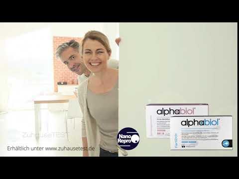 alphabiol Fertilität und Schwangerschaft Nahrungsergänzung Spot 3
