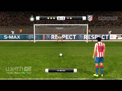 PES2011 - UEFA Super Cup Inter vs Atletico Madrid Highlights