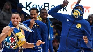 Steph Curry, Klay Thompson, Kevin Durant go off in Warriors' historic performance   NBA Highlights