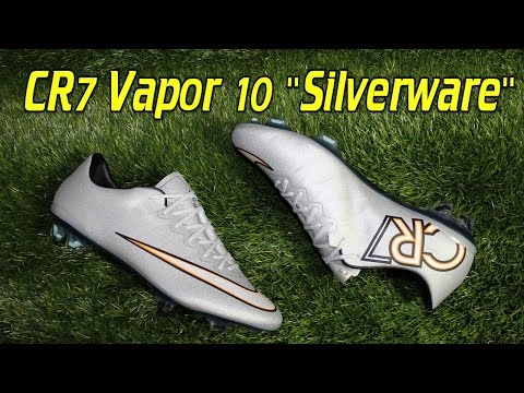 Nike Mercurial Vapor 10 CR7 Silverware - Review + On Feet