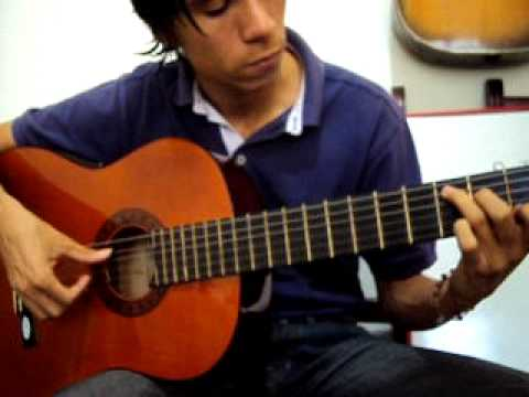Arpegios en guitarra  P I M A M I en Mi-, Do+, Sol+ y Re+ lecciones clase tutorial  43 Diego Erley