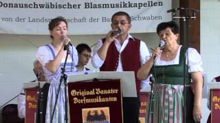 """Original Banater Dorfmusikanten """"Viele Rosen blühn im Garten"""" www.donauschwaebische-blasmusik.de"""
