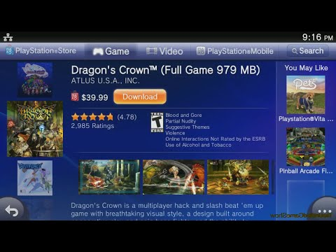 Ps Vita Games Compatible With Playstation Tv Supported Games Hd