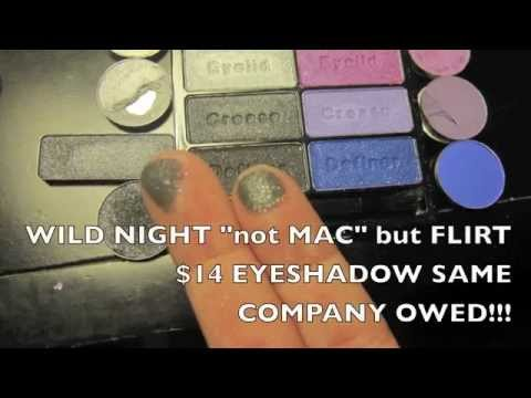 New Wet N Wild new 8 eyeshadow palettes with MAC dupes