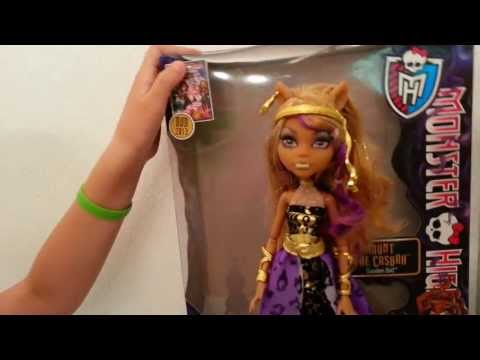 Monster High 13 Wishes - Haunt the Casbah - Clawdeen Wolf Review!