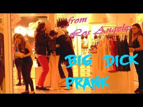 Пранк-Большой член из Лос Анджелеса / Big Dick Prank