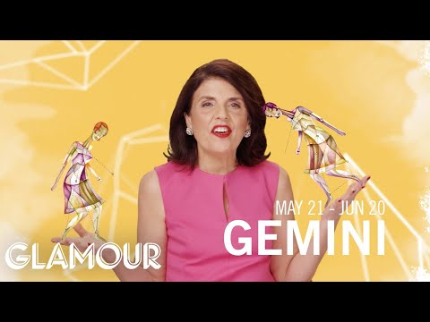Gemini Horoscope 2015 – An Action-packed Year Ahead – Susan Miller's Glamourscopes video