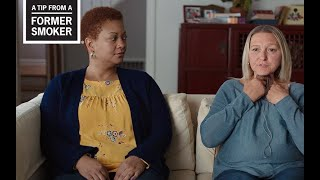 CDC: Tips From Former Smokers - Tiffany and Sharon's Ways to Quit Tips Commercial