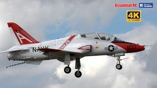 GIANT SCALE McDonnell Douglas GOSHAWK T-45 aircraft carrier JET (BMFA NATS) [*UltraHD and 4K*]
