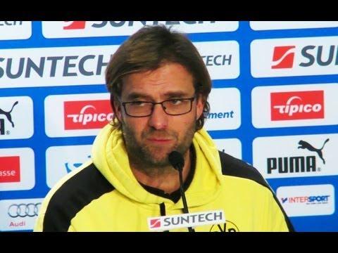 BVB Pressekonferenz mit Jürgen Klopp nach dem Spiel TSG Hoffenheim gegen Borussia Dortmund 1:3 2012