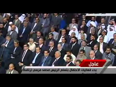 Dr Ahmad Nuaina Inauguration of President Muhammad Morsi 2012 الشیخ احمدنعینع