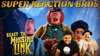 SRB Reacts to Missing Link Official Trailer