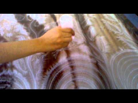 Technique peinture sur soie shampoing youtube - Technique de la chaise ...