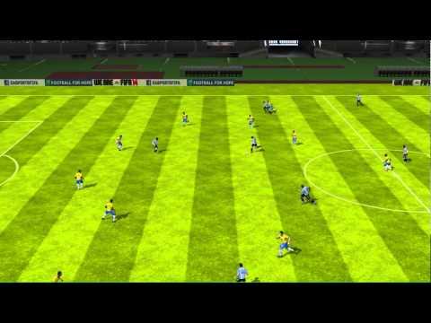 FIFA 14 iPhone/iPad - Argentina vs. Brazil