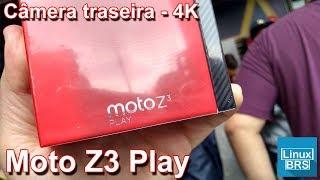 Motorola Moto Z3 Play - Câmera traseira 4K