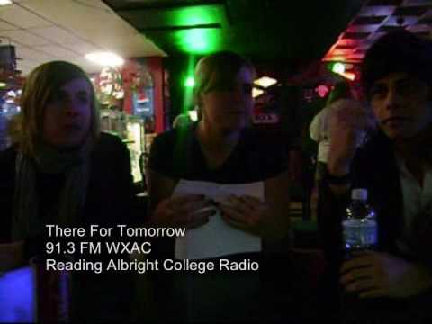 Marie and Gabby Interview Mika and Christian from There for Tomorrow at Crocodile Rock in Allentown PA on Feb. 9th Our Station: http://www.albright.edu/wxac/ Band's myspace: http://www.myspac...
