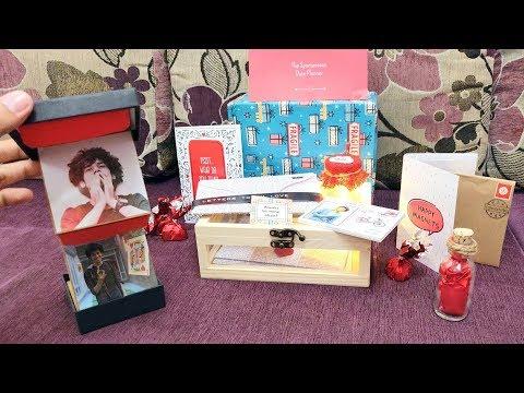 Oye Happy | Valentine's Day Gifts |  Happy Valentine Box | #Unboxing 2019