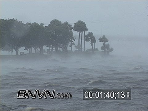 Hurricane Charley Video Part 3 - Friday the 13th, August 2004. - Punta Gorda FL