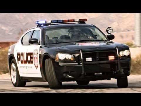 Dodge Charger Police Car Games
