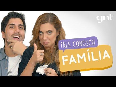 Fale Conosco: Momento Família com Gabriel Louchard #34   Júlia Rabello