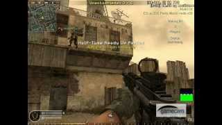 Call of Duty 4 Bug - Jump Trick BACKLOT