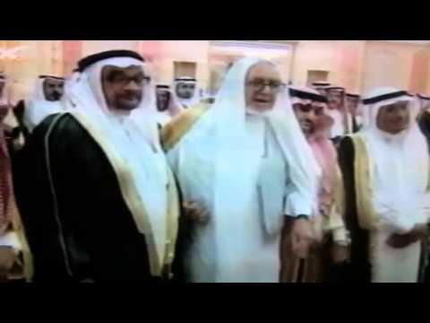 الملك عبدالله والسيد عيسي الدباغ