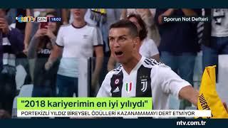 Portekizli yıldız Ronaldo, bireysel ödülleri kazanamamayı dert etmiyor!