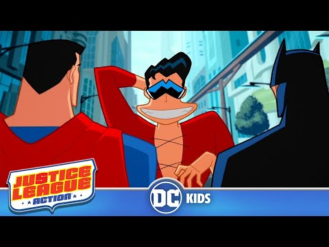 Justice League Action | Take It Seriously Plastic Man | DC Kids