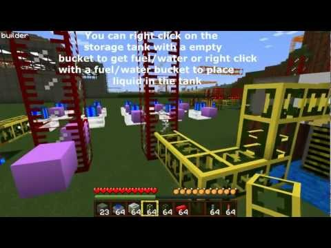 Minecraft Buildcraft Tutorial- Motors,Pipes,Quarries, and Sorting (Basics) Music Videos