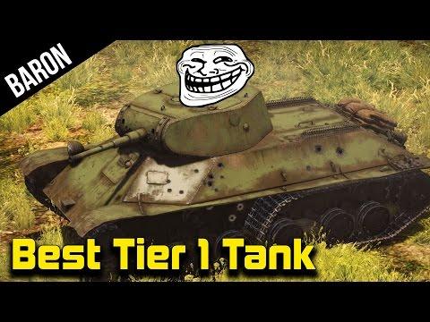 War Thunder Best Tier 1 Tank - Flank and Spank! (War Thunder Tanks Gameplay 1.43)