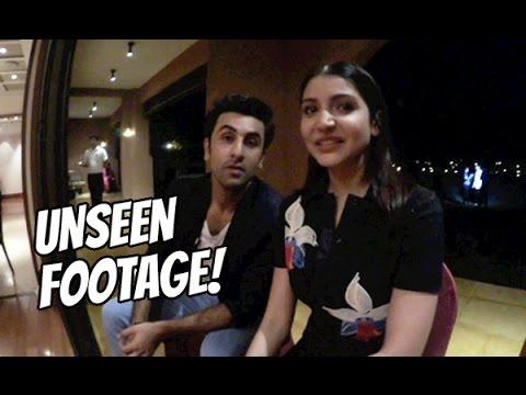 Unseen Footage! What it's like Offline with Ranbir Kapoor, Anushka Sharma & Karan Johar! Vlog #6