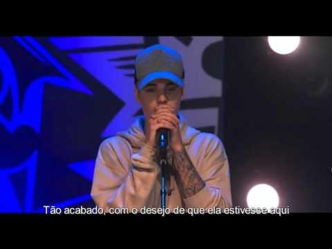 Justin Bieber - So Sick Live - Legendado