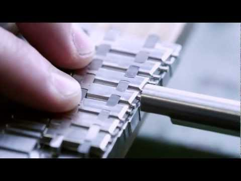 Audemars Piguet – Making the Bracelet for a Royal Oak