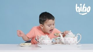 "American Kids Try ""More"" Tea"