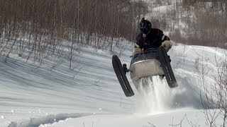 Mod Ski doo Elan 540cc having fun, March 5 2012